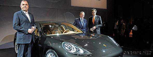 The Porsche Panamera launch at Shanghai - could this be the last car Porsche release as an independent car maker?