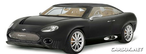 Spyker E8 - a four-door saloon/coupe - will be Spykers next model