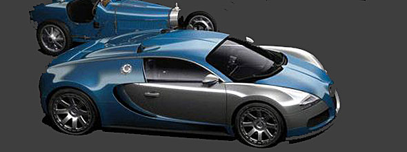 The Limited Edition (just 4) Bugatti Veyron L'Edition Centenaire