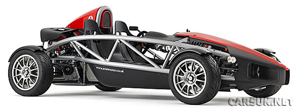 Ariel are to build the Ariel Atom V8 - with 500bhp!
