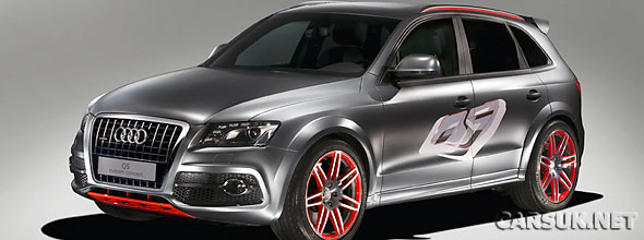 Audi has reveled the Audi Q5 Custom Concept at The Wörthersee Tour in Austria