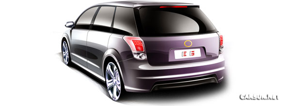BYD E6 - Made in China, which has overtaken the US as the World's biggest car making nation