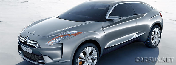Citroen DS5 Hybrid diesel electric to launch in 2011