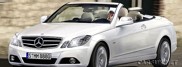 The new Mercedes E-Class Cabriolet - now put back until Spring 2010