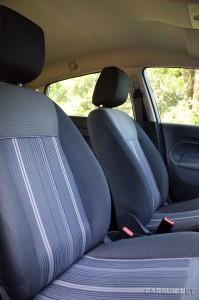 Ford Fiesta ECOnetic has 'Basic' interior