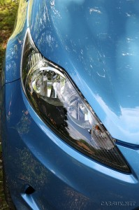 Ford Fiesta ECOnetic front light cluster