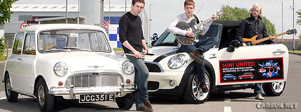 Today is the 50th anniversary of the first Mini rolling off the production line.