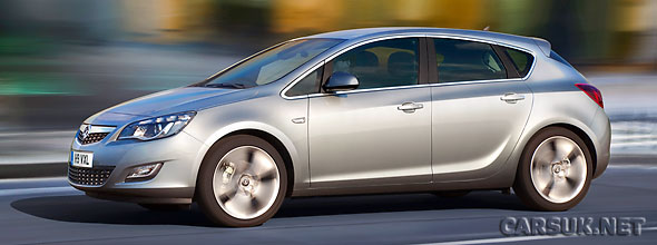 New Vauxhall / Opel Astra revealed ahead of a launch at the Frankfurt Motor Show in September