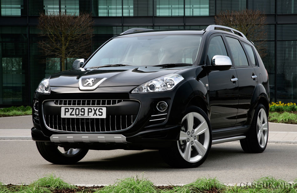 peugeot 4007 sport xs launched. Black Bedroom Furniture Sets. Home Design Ideas