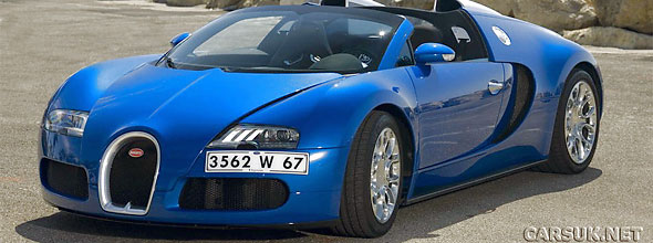 Production has now started on the Bugatti Veyron Grand Sport