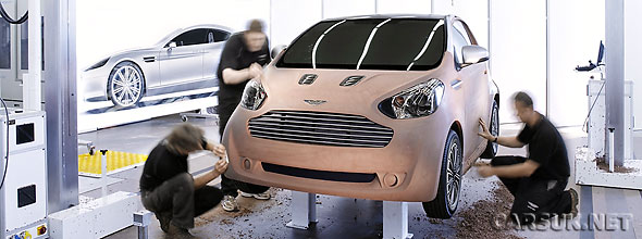 The Aston MArtin Cygnet Concept - an 'Urban' Aston Martin based on the Toyota iQ