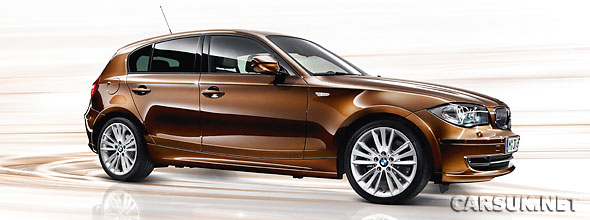 The BMW 1 Series Lifestyle - available as a 118d or a 120i