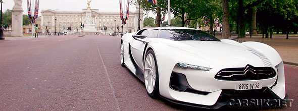 The GTbyCitroen - Citroen's 21st cecntury Supercar