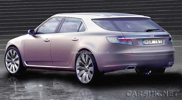 The new Saab 9-5 Estate is a cracking looking car