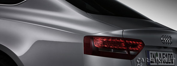 First official picture of the Audi A5 Sportback (click image for a bigger version)