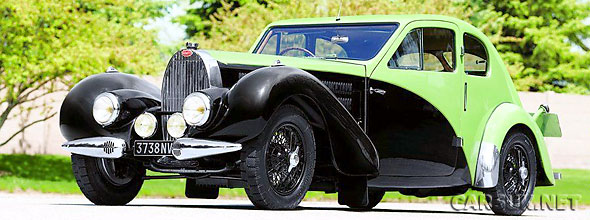 Ettore Bugatti's personal Type 57C Coupe is up for auction at Pebble Beach in August