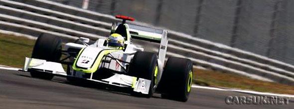 Jenson Button wins the Turkish Grand Prix in Istanbul for Brawn GP