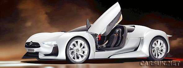 The GTbyCitroen Concept will tackle the Goodwood Hill Climb in July