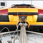 LAmborghini has committed to reducing their CO2 footprint by 35% by 2015