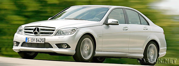 Mercedes C Class BlueEfficiency - now even more efficient