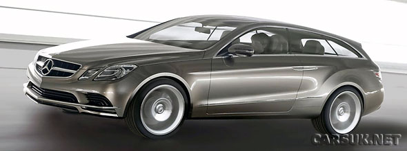 The Mercedes ConceptFascination - Could make it in to production as an E-Class Coupe Estate