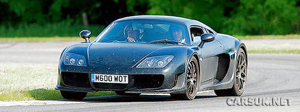 The new Noble M600 caught testing in the UK and almost ready to launch