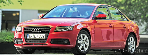 Audi has released details of their third 'e' car - The Audi A4 2.0 TDIe