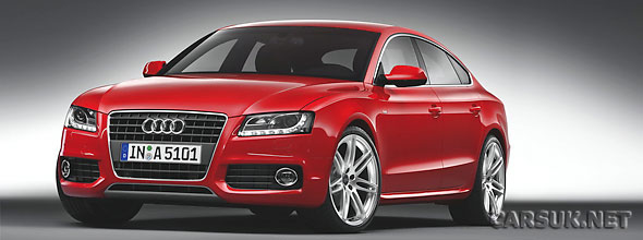 Audi has released details of the A5 Sportback that will launch in the UK in September