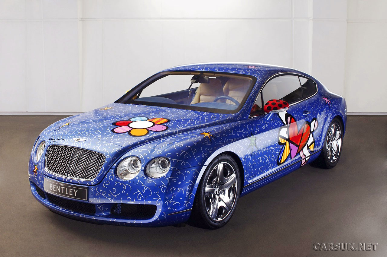 Bentley Continental Gt Pop Art