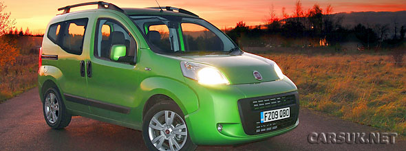 the Fiat Qubo is now being fitted with eco:Drive - Fiat's economy driving monitor