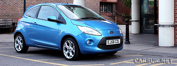 Ford has racked up total sales of 500,000 KAs in the UK