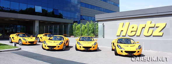 Hertz are now offering the Lotus Elise SC for hire in Italy