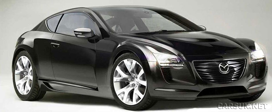 Could Mazda replace the RX-8 with an RX-7 and an RX-9 (pictured)?