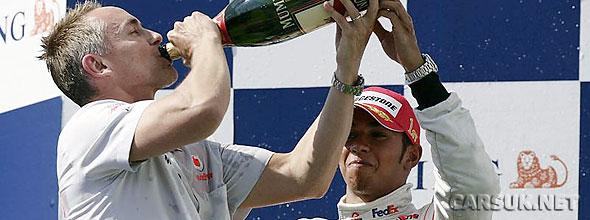 Hamilton takes McLaren's firts win of the season at the Hungaroring