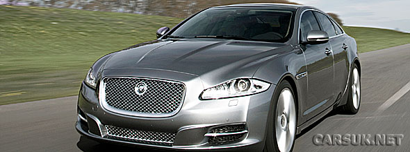 The new Jaguar XJ on the road