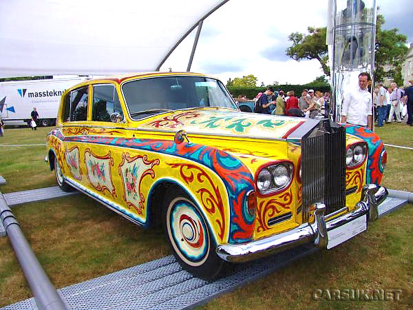 John Lennon's 'Pop Art' Rolls Royce Phantom V
