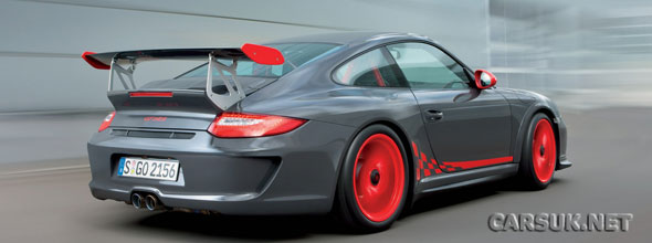 The 2010 Porsche 911 GT3 RS will be at the Frankfurt Motor Show