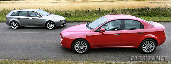 Alfa Romeo has updated the 159 for 201 with new trim levels and two new engines