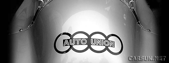 It looks like Porsche and VW may come together under the Auto Union banner.