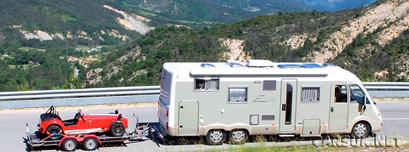 You can hire a Motorhome plus Caterham Roadsport 175 for £650 for 3 days