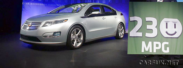 GM are claiming 230 mpg for the Chevy Volt