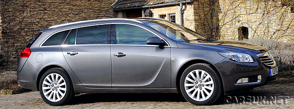 Vauxhall has released details of the Insignia Sports Tourer ecoFLEX
