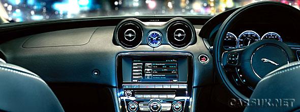 The Jaguar XJ Phone Connectivity