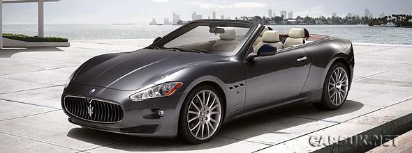The Maserati GranCabrio will be known as the GranTurismo Convertible in many markets