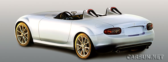 Mazda has created a stripped-down MX-5 for the Frankfurt Motor Show - The Mazda MX-5 Superlight