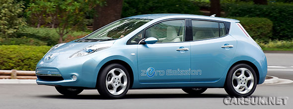 Nissan has released details of the all electric Nissan LEAF EV