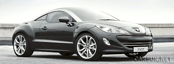 The UK will get its first sight of the Peugeot RCZ at the MPH shows in November
