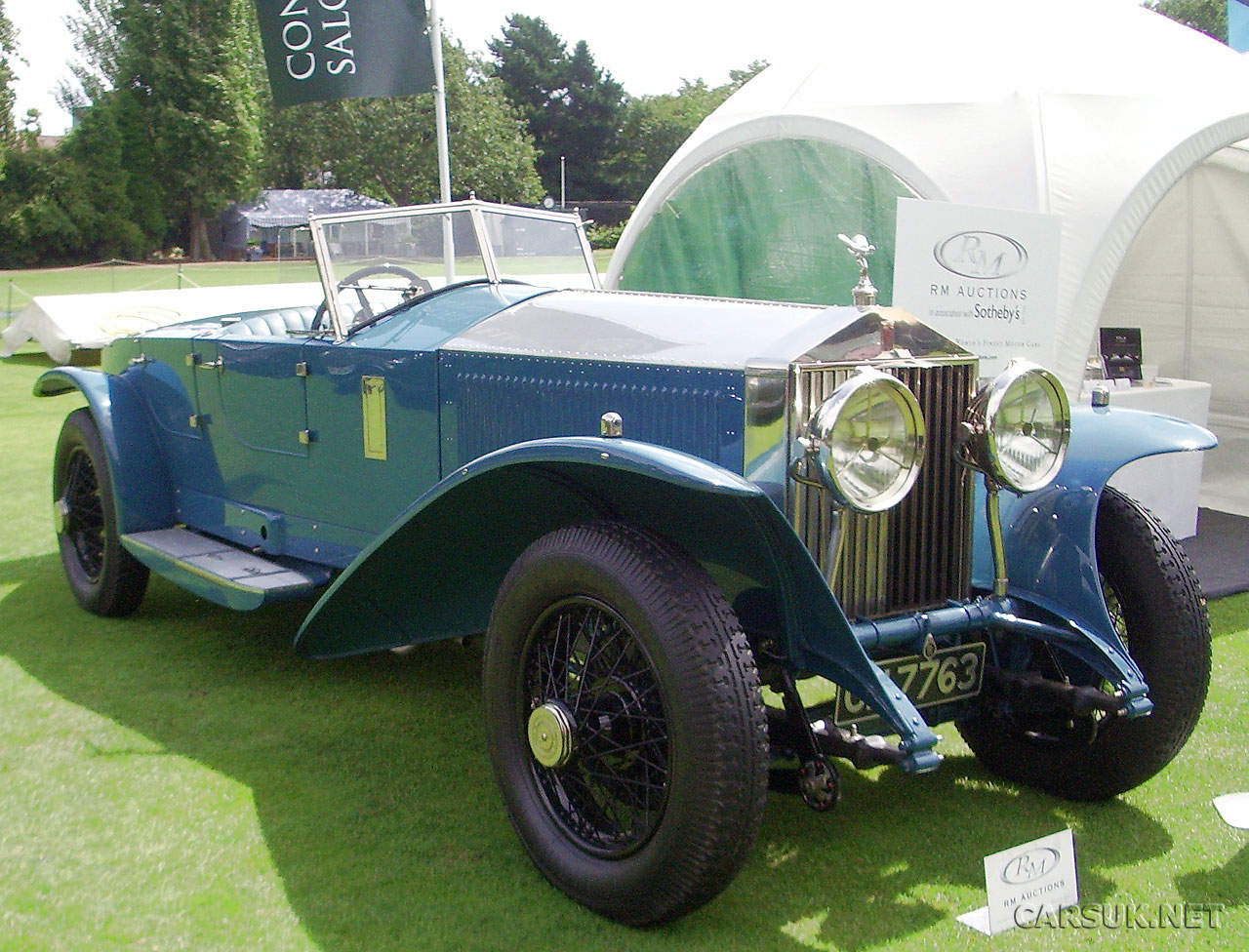 Salon Prive Classic Cars.