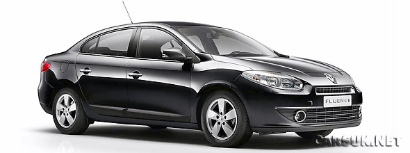 The new Renault Fluence is being built for the Turkish, Russian and Romanian markets