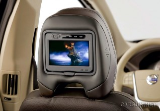 Volvo has added a rear seat entertainment package option to the XC60